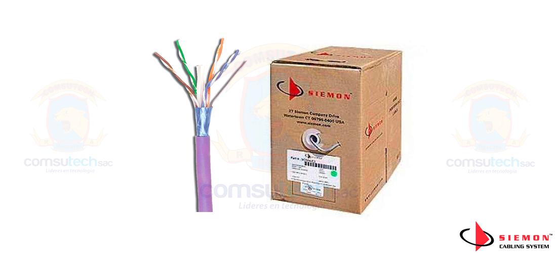 Cable UTP Siemon Categoría 7A